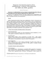 Dopune i korekcije popisa ptica zabilježenih u