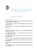startna lista c program