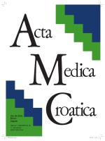 Vol 64 - Broj 2.pdf - Akademija medicinskih znanosti Hrvatske