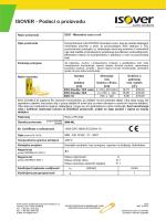 ISOVER List sa podacima - EKO.pdf