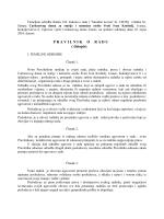 """Pravilnik o radu - Caritasov dom """"Sv. Ivan Krstitelj"""""""