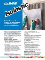 Dodatak na bazi lateksa za poboljšanje elastičnosti lepkova
