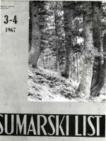 M - Šumarski list