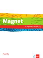 Magnet A1-B1 Griechisches Portfolio