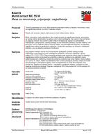 Baumit MultiContact MC 55 W Masa za renoviranje