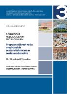 DRUGA OBAViJEST - Fakultet zdravstvenih studija