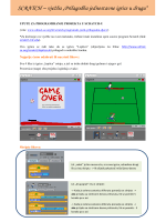 """SCRATCH – vježba """"Prilagodba jednostavne igrice u drugu"""""""