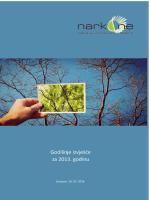 Godišnji izvještaj UG NARKO