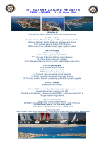 17 Rotary regata Program 2014