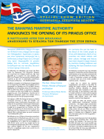 POSIDONIA - The Bahamas Maritime Authority