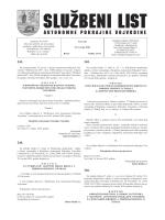 Službeni list APV - Novi Sad
