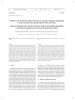 ispitivanje svojstava bentonita kao inženjerske barijere u