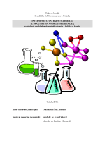 nastavni radni materijal iz Praktikuma anorganske