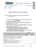 Zapisnik o otvaranju, pregledu i ocjeni ponuda za