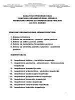 BOSNA I HERCEGOVINA - Federalna uprava za inspekcijske poslove