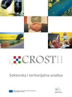 CROST II. Sektorska i teritorijalna analiza