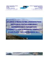 Izvješće o kvaliteti mora 2011.