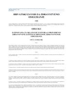 (PDF, 1.09MB) - sindikat zdravstva, socijalne zaštite i mio