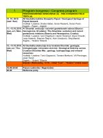 Programu kongresa