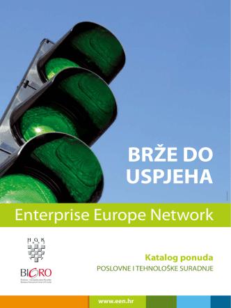BRŽE DO USPJEHA - Europska poduzetnička mreža Hrvatske