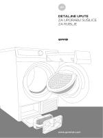 detaljne upute za uporabu sušilice za rublje