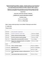 Program - HRVATSKO NEUROLOŠKO DRUŠTVO