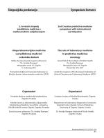 Simpozijska predavanja Symposium lectures