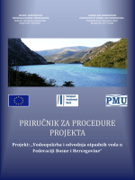 PRIRUČNIK ZA PROCEDURE PROJEKTA