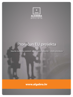 Proračun EU projekta