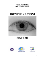 IDENTIFIKACIONI SISTEMI - Elektrotehnički fakultet Podgorica