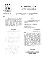 Otvori - Općina Ljubuški