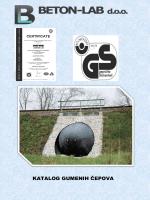 Katalog VAPO opreme za ispitivanje kanalizacije - BETON