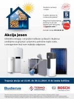 Akcija jesen Bosch i Buderus - termo
