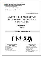 županijsko prvenstvo - Savez školskih sportskih društava Primorsko
