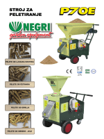 novo u ponudi – stroj za peletiranje - Panex-AGM