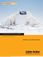 Pregledajte Dayton katalog zimskih guma pdf-u