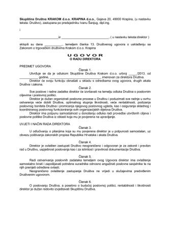 ( u nastavku teksta: Dru{tvo ), zastupana po predsjedniku dr. Vesni