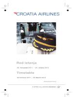 2011 - zima.vp - Croatia Airlines