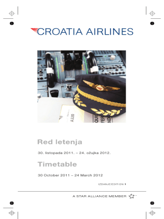 2011 - zima.vp - Croatia Airlines