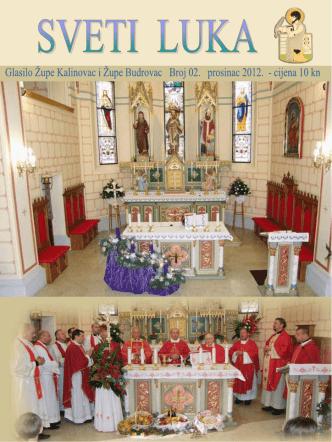 br. 2. - Župa sv. Luke Kalinovac