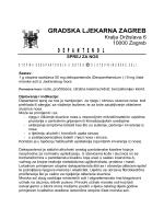 Uputa za uporabu - Gradska ljekarna Zagreb