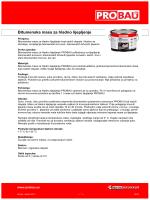 Bitumenska masa za hladno lijepljenje