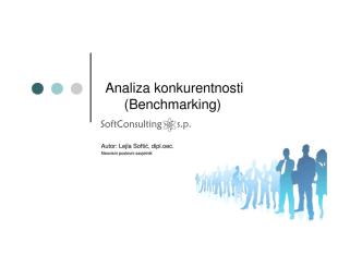Analiza konkurentnosti (Benchmarking)