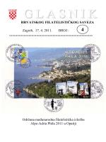 Glasnik Hrvatskog filatelističkog saveza br. 4/11