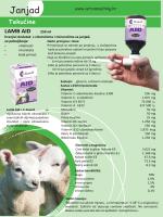 Katalog proizvoda za ovce i janjad