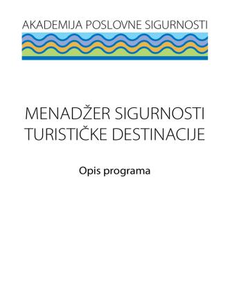 Akademija Brosura - Politehnika Pula