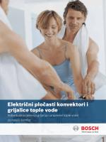 Bosch električni program Individualna rješenja grijanja i pripreme