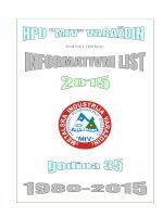 Godišnji informativni list