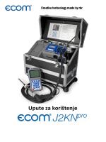 Uputstva ecom-J2KNpro