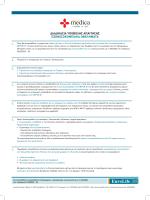 Έντυπο για τη διαδικασία υποβολής εντύπου υγείας medica
